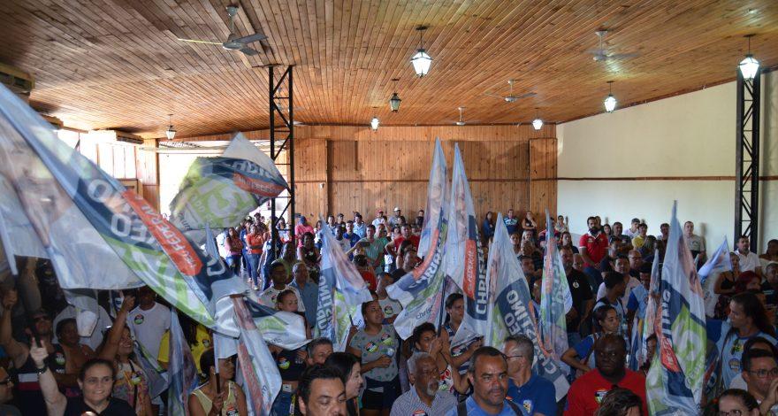 lançamento da campanha de Christino Áureo em Volta Redonda