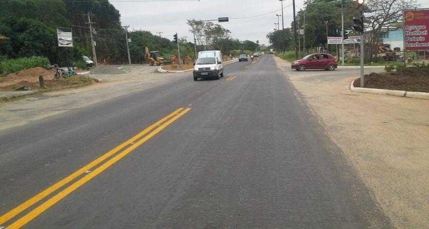 Deputado Christino trabalhou para garantir a obra da recuperação da Avenida Amaral Peixoto, no trecho entre Rio das Ostras e Macaé.