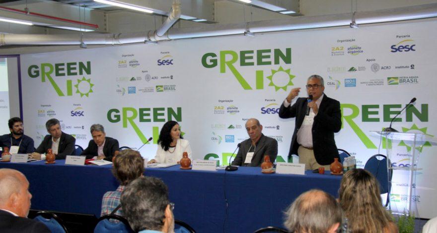 Durante o Green Rio, o deputado federal Christino Aúreo destacou a intenção de levar o programa Rio Rural para todos os estados do Brasil.