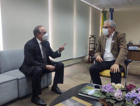 Christino se reúne com Secretário de Fazenda para tratar de temas voltados à recuperação econômica do Estado do Rio
